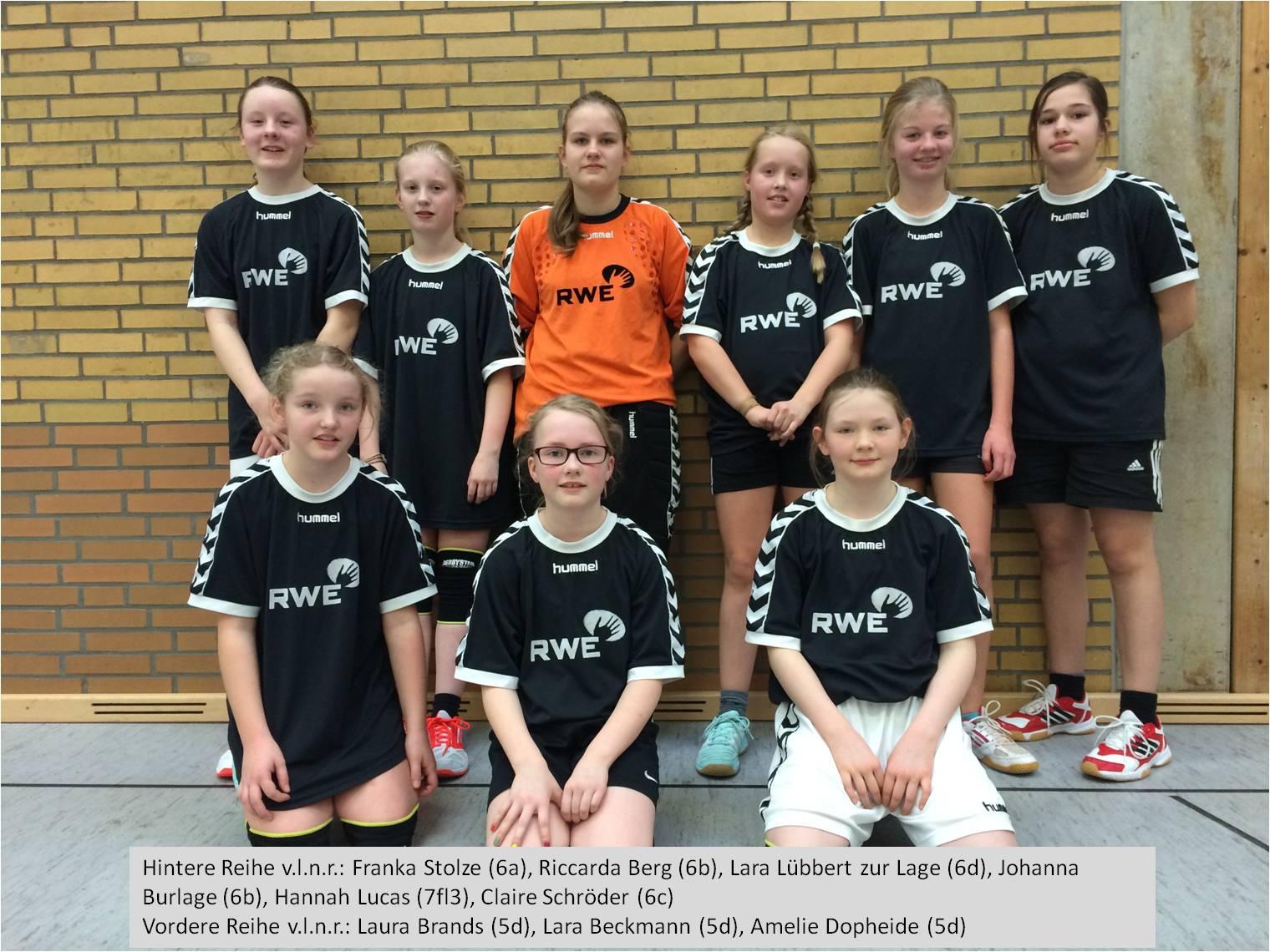 Bezirksentscheid Handball 12.2.2015