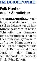 Bersenbrücker Kreisblatt 25.03.2015