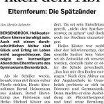 Bersenbrücker Kreisblatt 25.04.2015