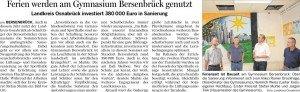 Bersenbrücker Kreisblatt 29.08.2015