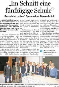 Bersenbrücker Kreisblatt 08.10.2015